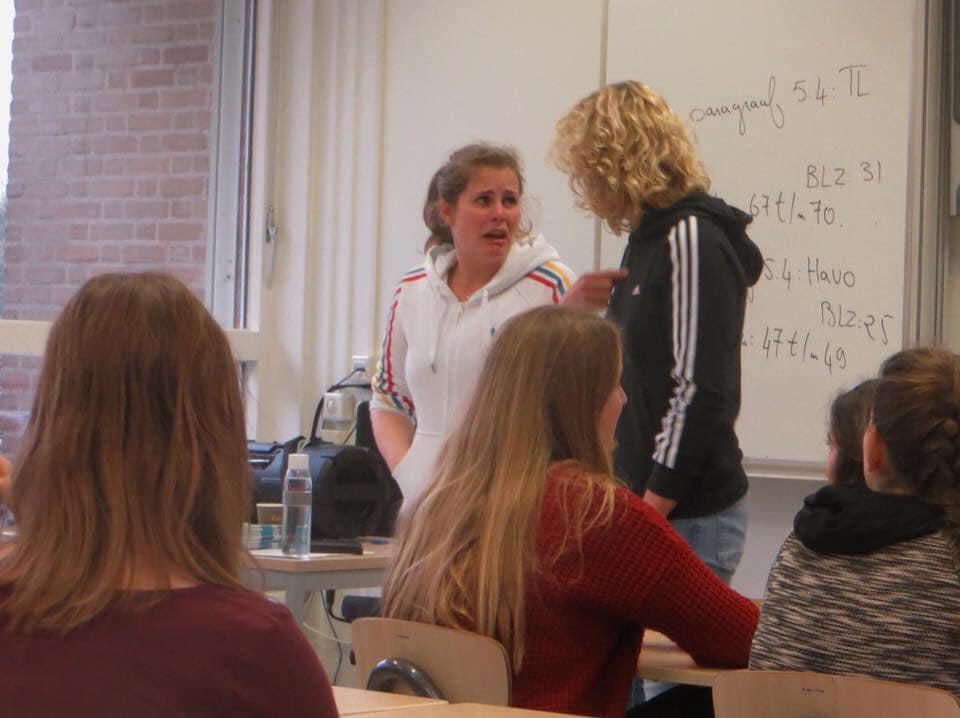 Onderwijs workshop Pesten in de klas